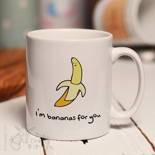 I'm bananas for you mug