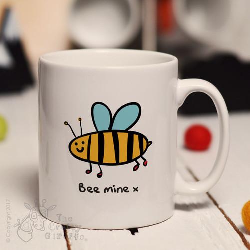 Bee mine mug