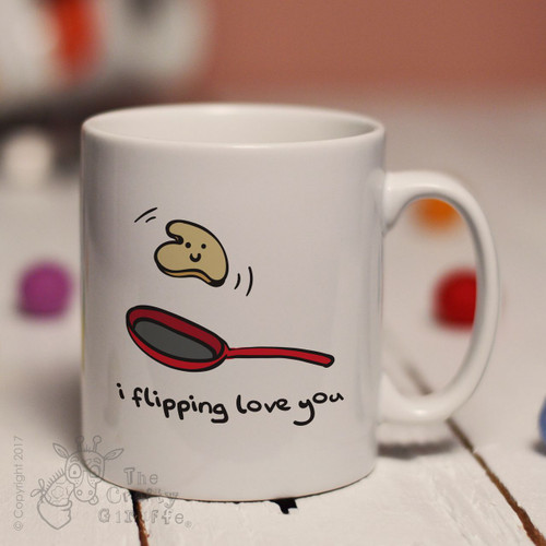 I flipping love you mug