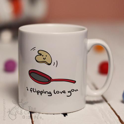 I flipping love you mug
