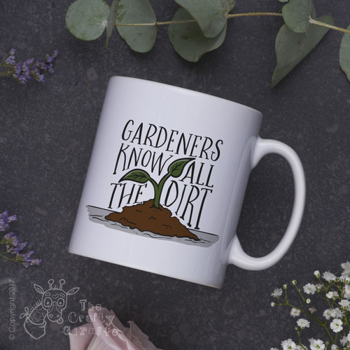 Gardeners know all the dirt mug