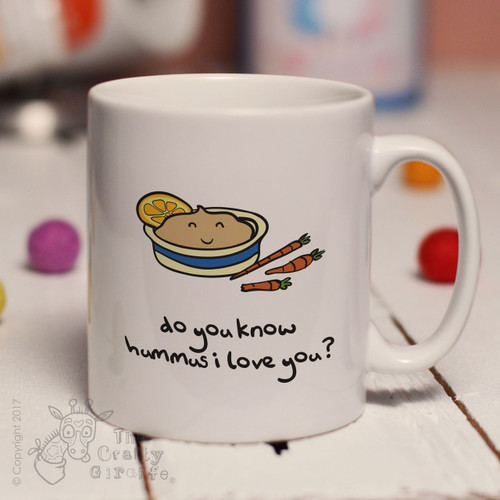 Do you know hummus I love you mug