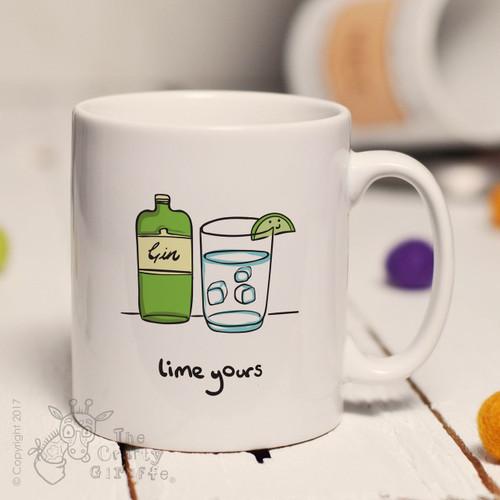 Lime yours mug