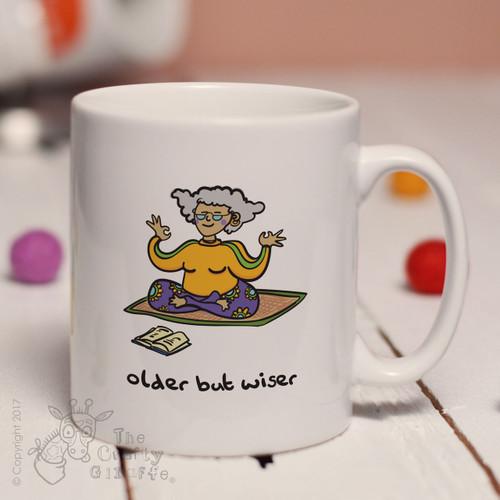 Older but wiser (lady) mug