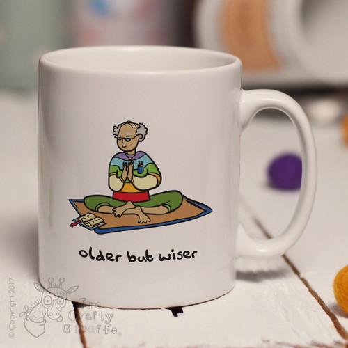 Older but wiser (man) mug