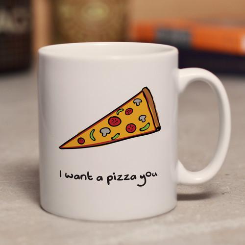 I want a pizza you mug