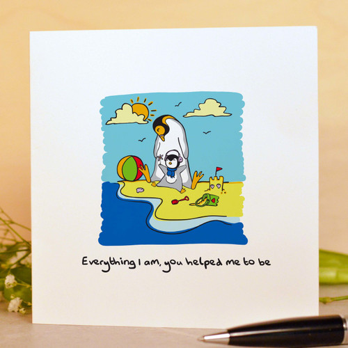 Buy Everything I am, you helped me to be Card From The Crafty Giraffe, the home of unique and affordable gifts for loved ones...