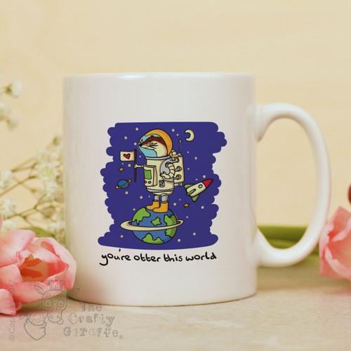 You're otter this world mug