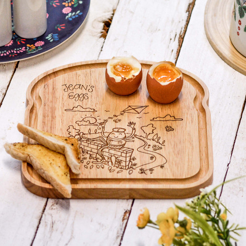 Personalised Breakfast Egg Board - Good Egg - The Crafty Giraffe