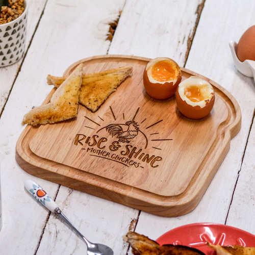 Breakfast Egg Board - Mothercluckers - The Crafty Giraffe