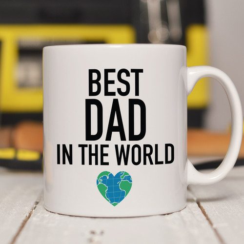 Personalised Best in the World Mug