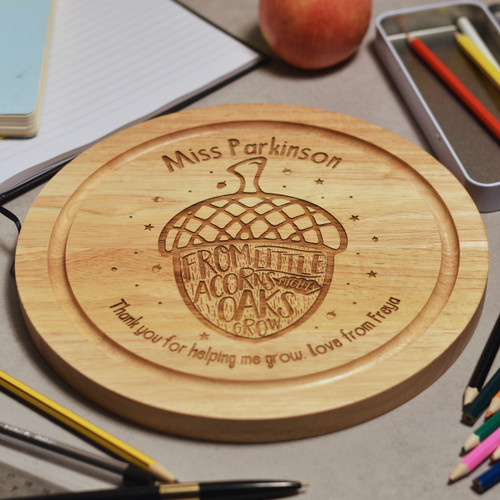 Buy Personalised From little acorns mighty oaks grow board From The Crafty Giraffe, the home of unique and affordable gifts for loved ones...