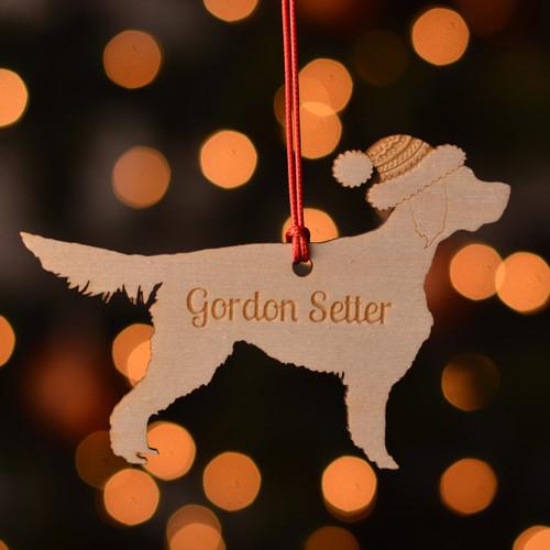 Personalised Gordon Setter Dog Pet Decoration - The Crafty Giraffe