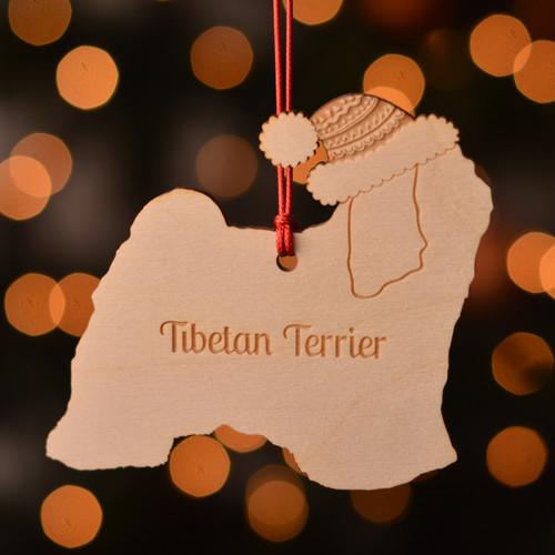Personalised Tibetan Terrier Dog Pet Decoration - The Crafty Giraffe
