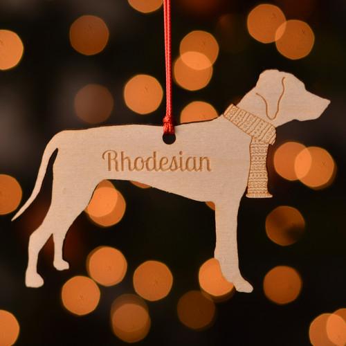 Personalised Rhodesian Ridgeback Dog Pet Decoration - The Crafty Giraffe