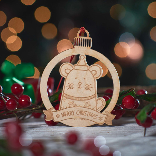 Personalised Mouse Decoration
