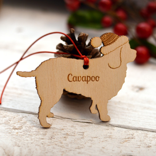 Personalised Cavapoo Dog Pet Decoration - The Crafty Giraffe