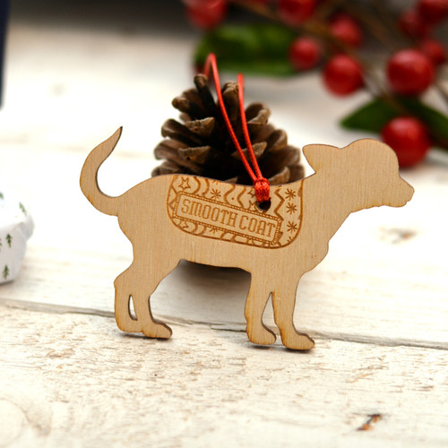 Personalised Smooth Coat Chihuahua Dog Pet Decoration - The Crafty Giraffe