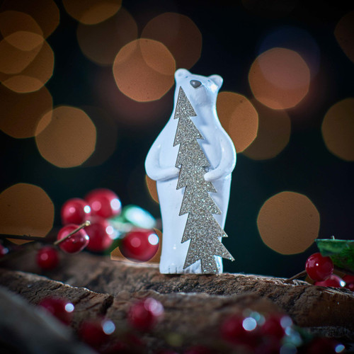 Buy Bear holding Tree Decoration From The Crafty Giraffe, the home of unique and affordable gifts for loved ones...