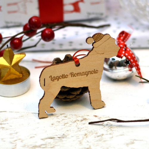 Personalised Lagotto Romagnolo Dog Pet Decoration - The Crafty Giraffe