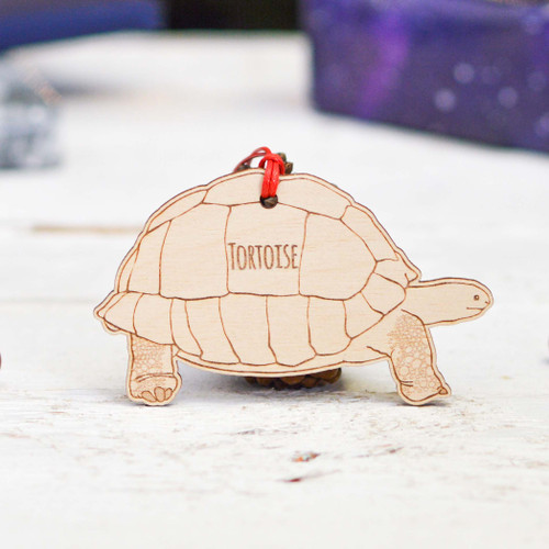 Personalised Tortoise Pet Decoration - The Crafty Giraffe