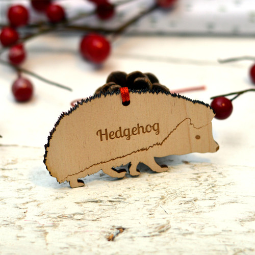 Personalised Hedgehog Dog Pet Decoration - The Crafty Giraffe