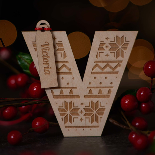 Personalised Christmas Decorations The Crafty Giraffe