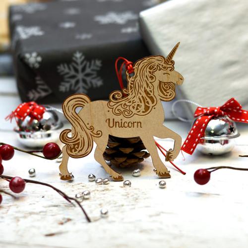 Personalised Unicorn Pet Decoration - The Crafty Giraffe