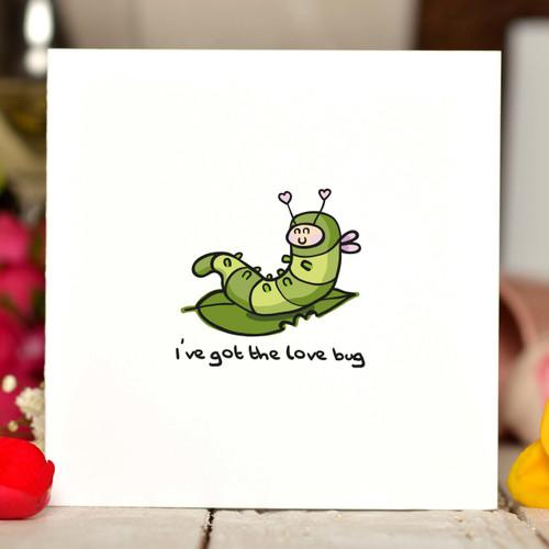 I've got the love bug Card - The Crafty Giraffe