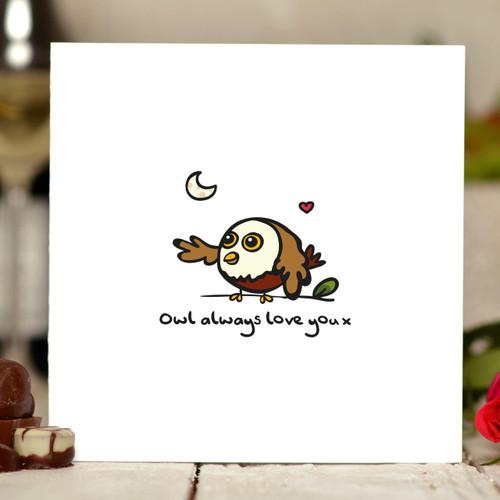 Owl always love you Card - The Crafty Giraffe