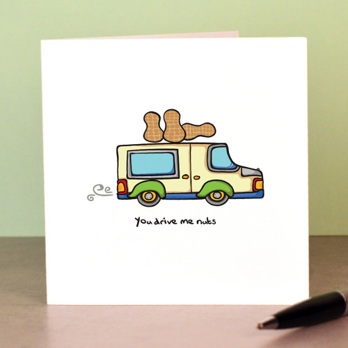 You drive me nuts Card - The Crafty Giraffe