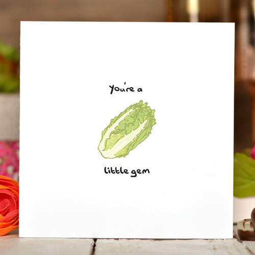 You're a little gem Card - The Crafty Giraffe