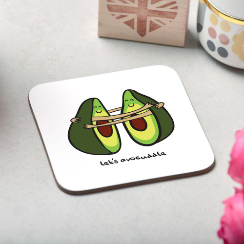 Let's Avocuddle Coaster - The Crafty Giraffe