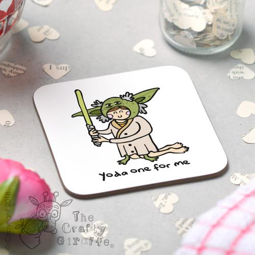 Yoda one for me Coaster