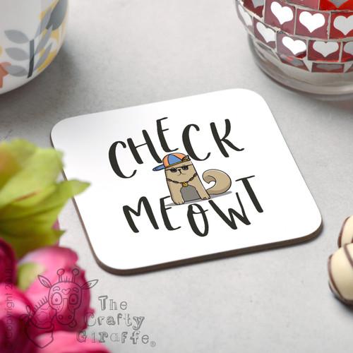 Check Meowt Coaster