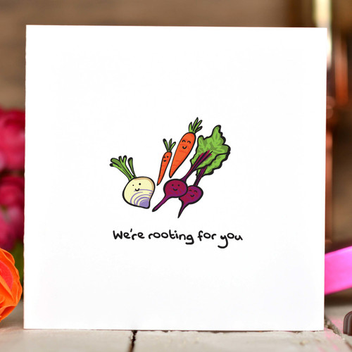 We're rooting for you Card - The Crafty Giraffe