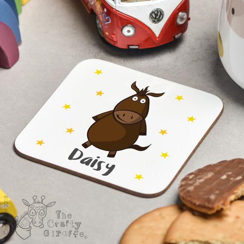 Personalised Horse Coaster