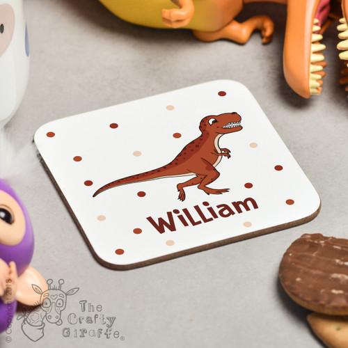 Personalised T-Rex Coaster