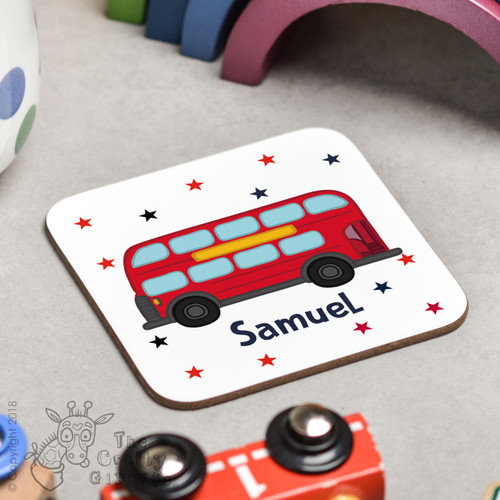Personalised Bus Coaster