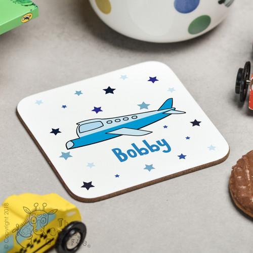 Personalised Plane Coaster