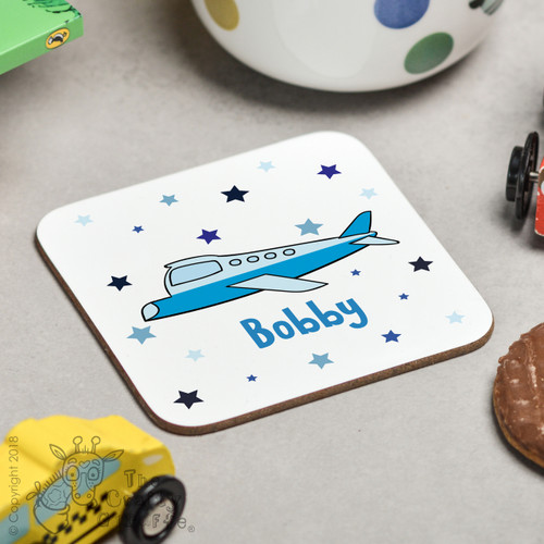 Personalised Plane Coaster