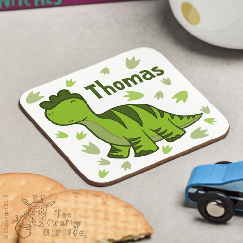 Personalised Diplodocus Coaster