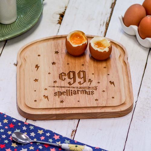 Breakfast Egg Board - Egg Spelliarmus
