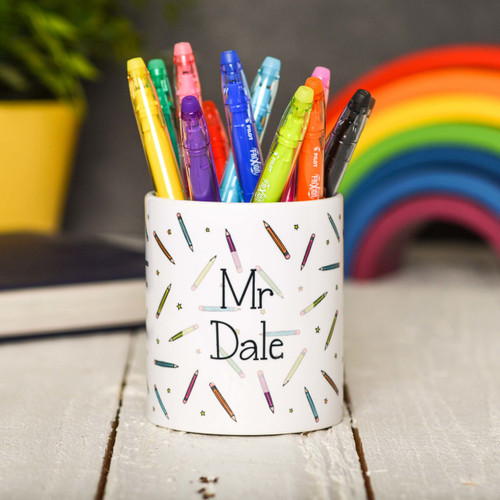 Buy Personalised Pencil Pencil Pot From The Crafty Giraffe, the home of unique and affordable gifts for loved ones...