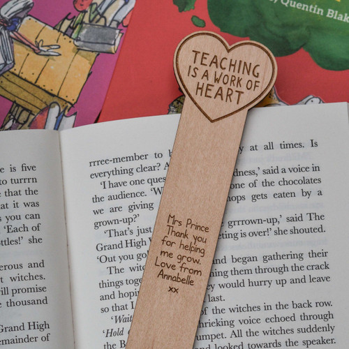 Personalised Teaching is a work of heart Bookmark