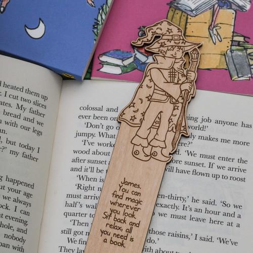 Personalised Wizard Bookmark
