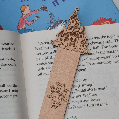 Personalised Princess Castle Bookmark
