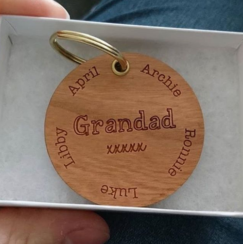Personalised Special Names Keyring
