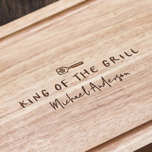 Personalised King of the Grill Board