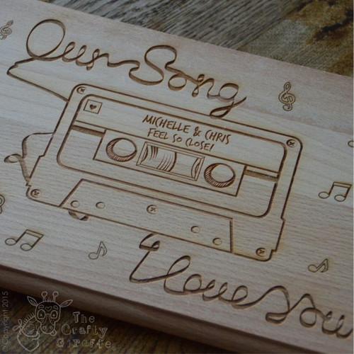 Personalised Cassette Board